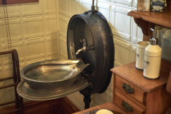 King Suite Antique Steam Train Sink