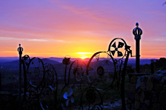 Sunrise through Wheely Gate